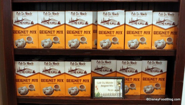 cafe du monde beignet mix Ralph Brennan's Jazz Kitchen Express
