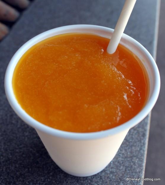Frozen Jungle Juice at Animal Kingdom's Harambe Popcorn