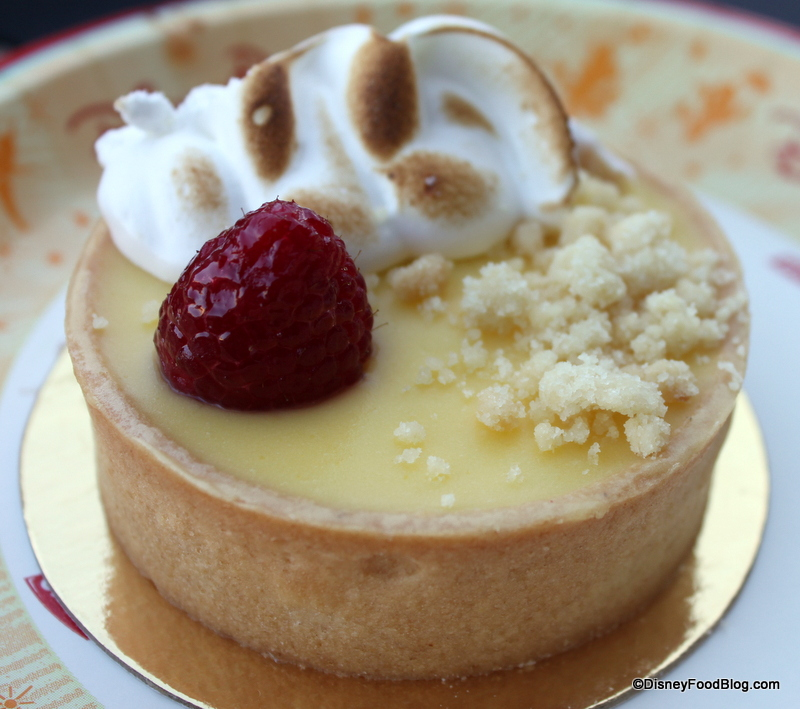 My New Favorite Disney Pastry: Lemon Meringue Tart at BoardWalk Bakery ...