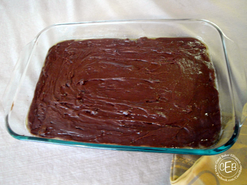 Diy Disney Recipe Cheesecake Brownie From Disney S