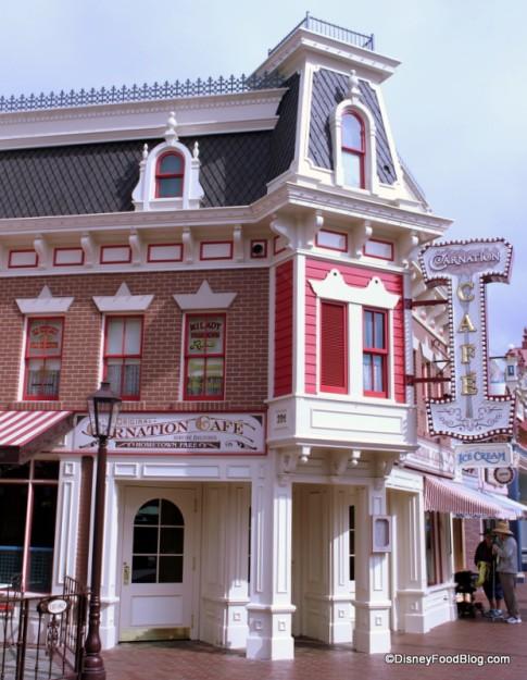 Carnation Cafe in Disneyland