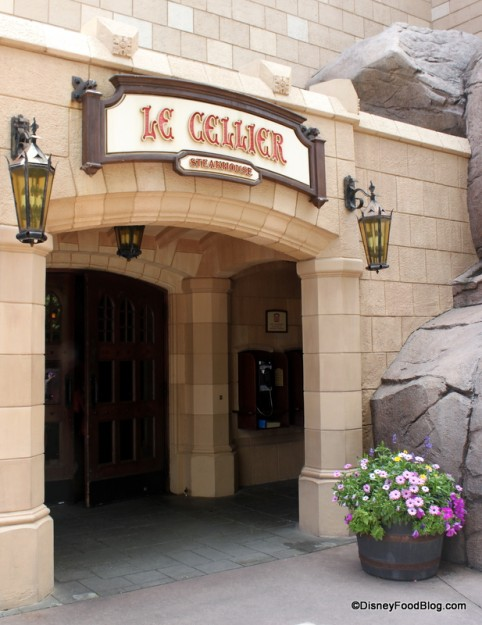 Le Cellier Steakhouse -- Outside View