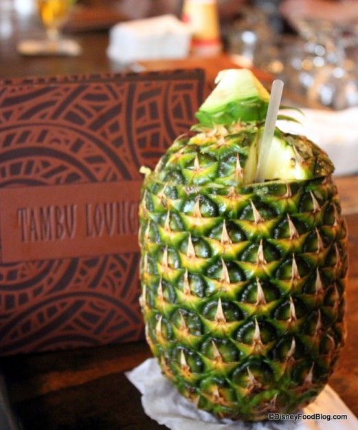A Lapu Lapu at Disney's Polynesian Resort is a great First Day Tradition!