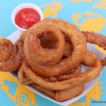 Review: Onion Rings and Chocolate Mousse at Animal Kingdom's Flame Tree Barbecue