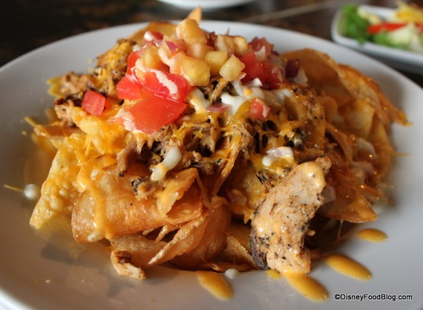 Pork Nachos at the Polynesian's Tambu Lounge