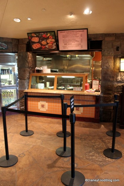 Ordering area at Roaring Fork