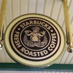 News! Starbucks Signage Up in Disney World's Magic Kingdom!