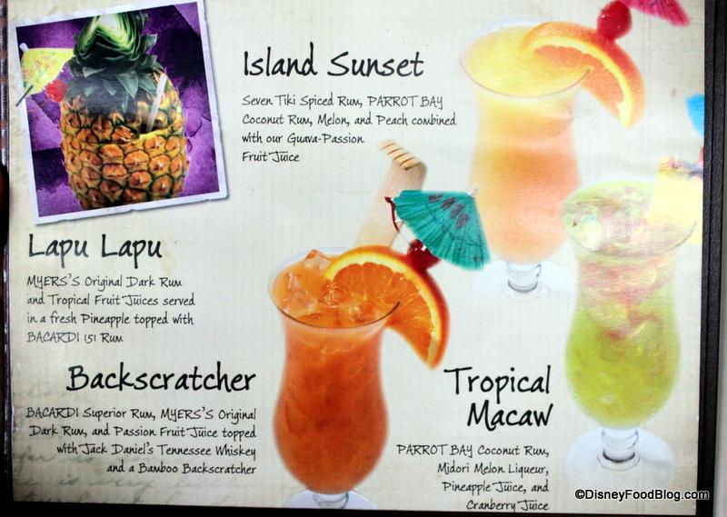 Polynesian Resort Alcoholic Drink