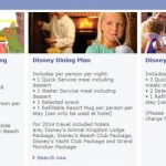 News! 2014 Disney World Free Dining Packages for United Kingdom Residents