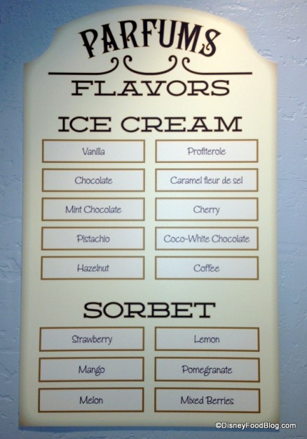 Opening Day L'Artisan des Glaces Flavors
