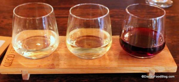 Italian Wine Flight