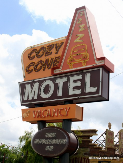 Cozy Cone Motel!