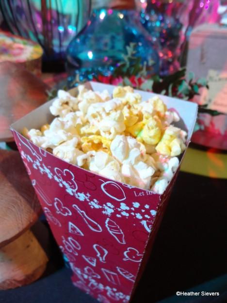 Dill Pickle Popcorn at Cozy Cone Motel