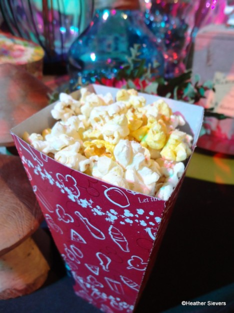Dill Pickle Popcorn at Cozy Cone Motel