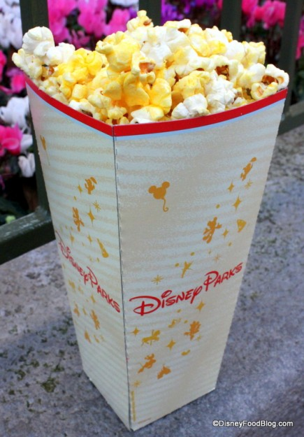 Popcorn at Disney Parks