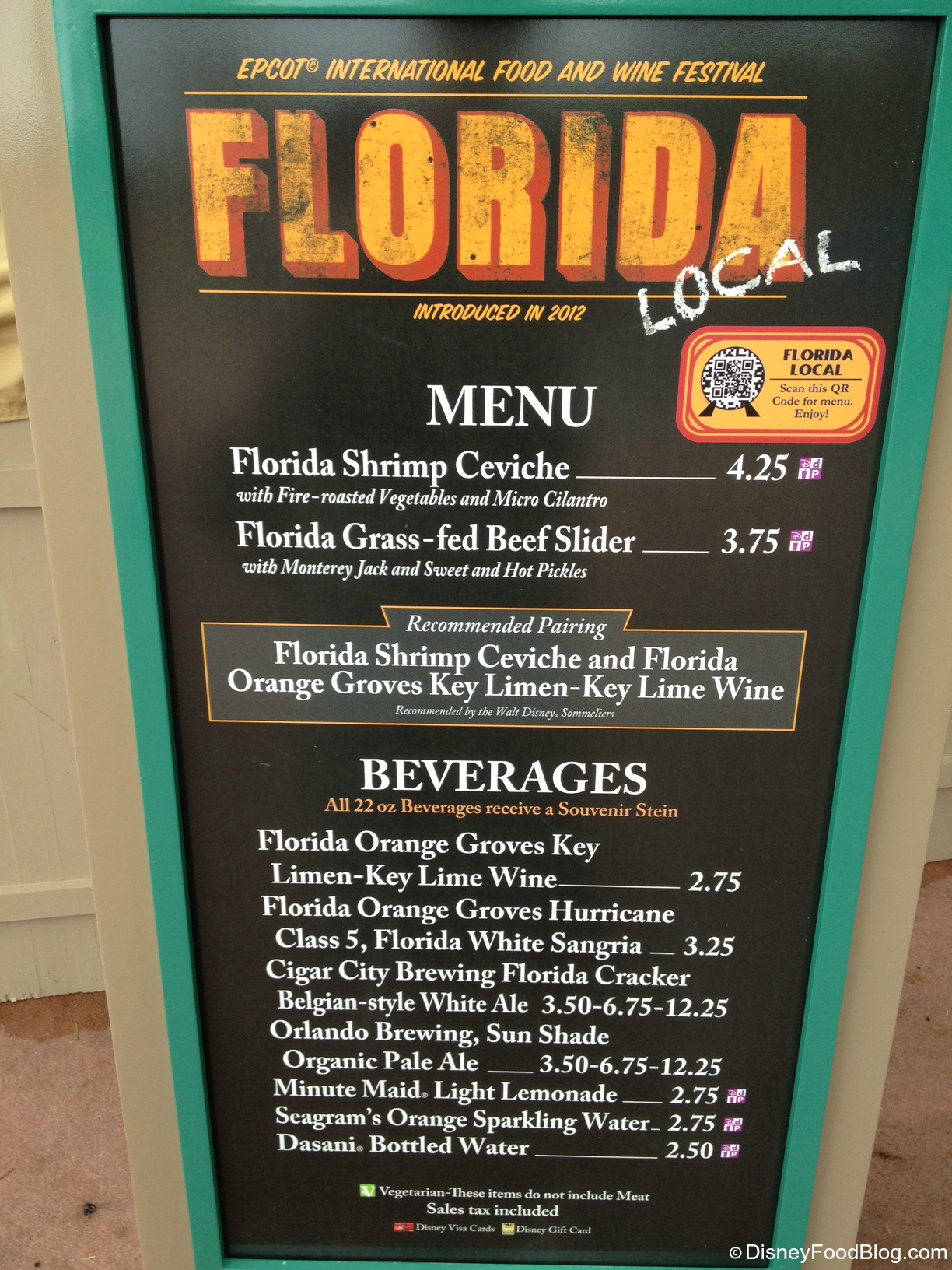 Florida Local: 2013 Epcot Food and Wine Festival