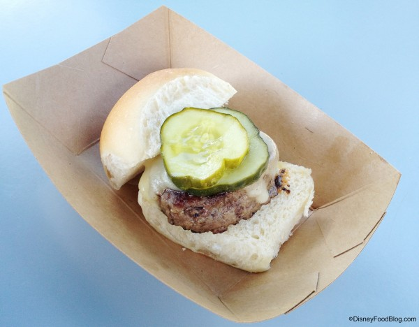 Florida Grass Fed Beef Slider from the 2013 Food and Wine Festival
