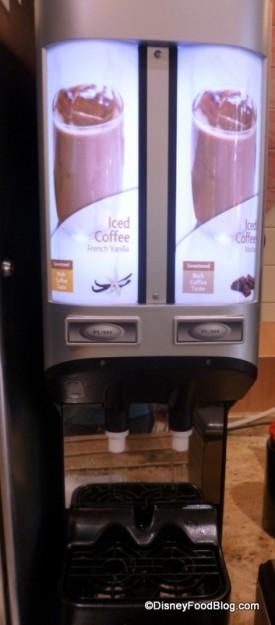 Iced Coffee Machine!