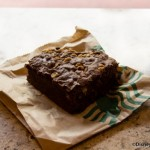 Review: Starbucks Brownie at Main Street Bakery in Disney's Magic Kingdom