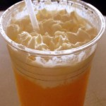 New! Orange Slush at Cosmic Ray's Starlight Cafe in Disney World's Magic Kingdom