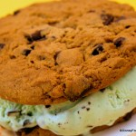 Review: Mint Chocolate Chip Ice Cream Sandwich at the Plaza Ice Cream Parlor