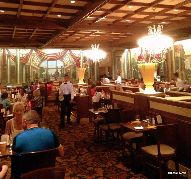 Guest review lunch at tutto italia ristorante in epcot 39 s for Tutete italia
