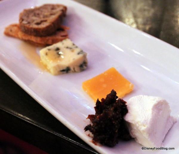 A Royal Tasting of Cheese at Cinderella's Royal Table