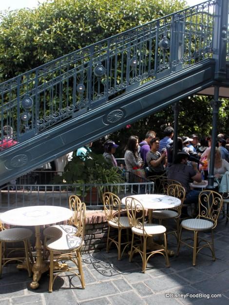 Tables and Chairs at Royal Street Veranda