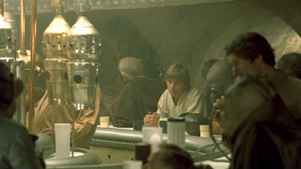 Will disney world get a star wars cantina restaurant for Food bar cantina