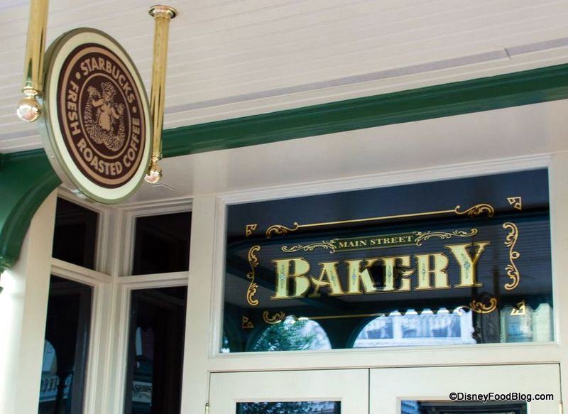 First look main street bakery starbucks offers soft opening the main street bakery now with starbucks fandeluxe Image collections