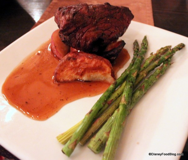Beef Tenderloin at Cinderella's Royal Table