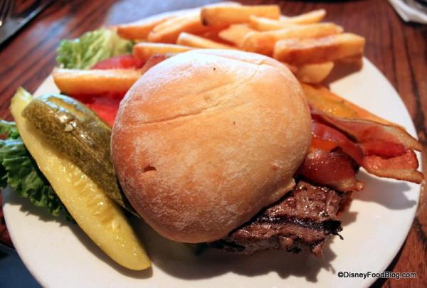 Cheeseburger at Liberty Tree Tavern