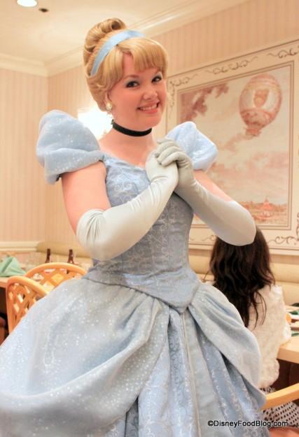 Cinderella at 1900 Park Fare in Disney's Grand Floridian Resort