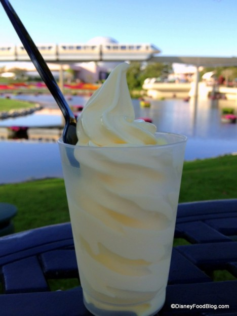 Pineapple Dole Whip Makes Its Debut at the Epcot Food and Wine Festival!