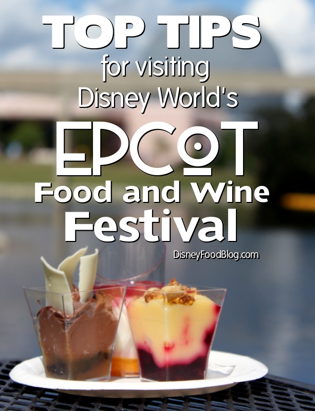 How Does The Epcot Food And Wine Festival Work