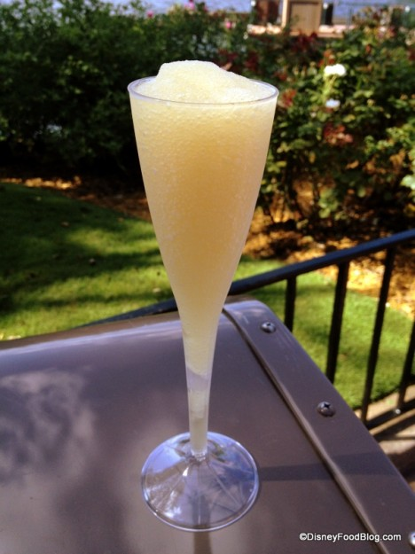 Frozen Szarlotka (Apple Pie) featuring Zubrowka Bison Grass Vodka