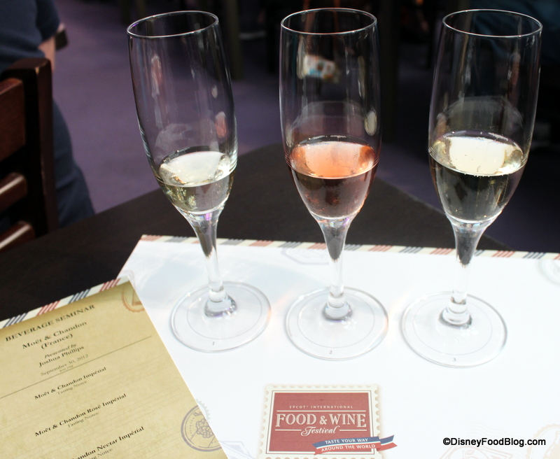Drinks Featured At The Food And Wine Festival In Disney