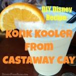 DIY Disney Recipe: Konk Kooler from Disney Cruise Line's Castaway Cay