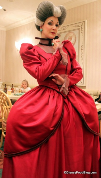 Hmmm...What Will Lady Tremaine Have Up Her Sleeve When She Takes Over Cinderella's Royal Table?
