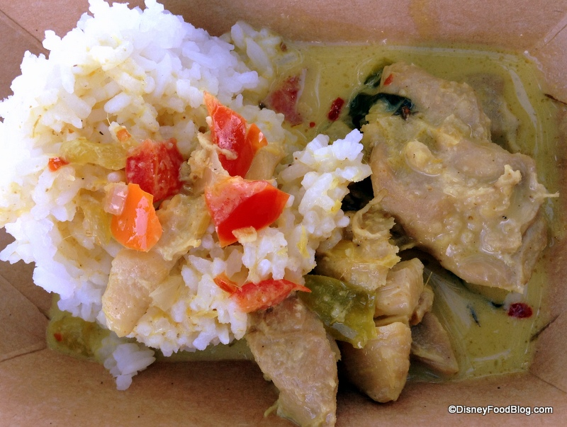 Lemongrass Chicken Curry with Coconut and Jasmine Rice