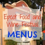 News! 2015 Epcot Food and Wine Festival FULL BOOTH MENUS and Food Photos!