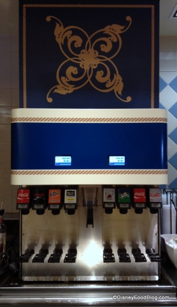 Newly Installed Beverage Refill Station at Beach Club Marketplace