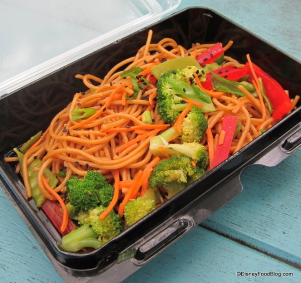 Asian Noodle Salad at Bradley Falls Kiosk