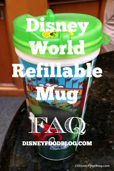 Refillable Mug FAQ