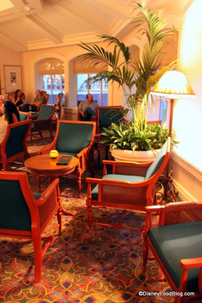Mizner's Lounge at the Grand Floridian