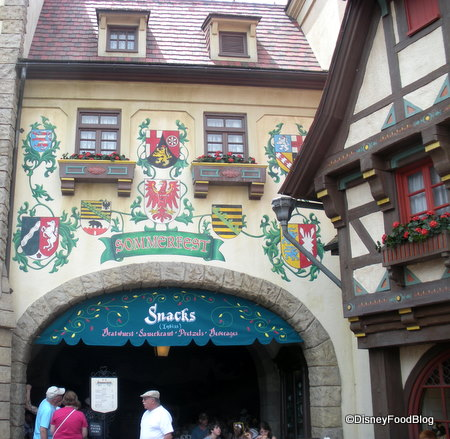 Sommerfest in the Germany Pavilion Outside View