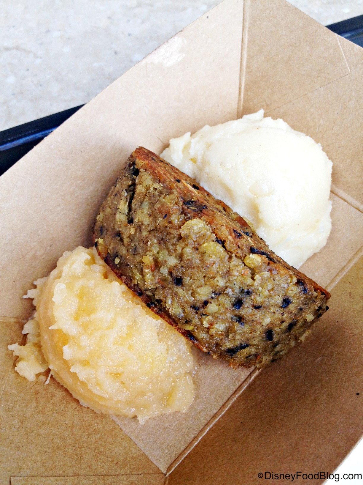 2014 epcot food and wine festival vegetarian options the disney vegetarian haggis with neeps and tatties griddled vegetable cake with rutabaga and mashed potatoes forumfinder Choice Image