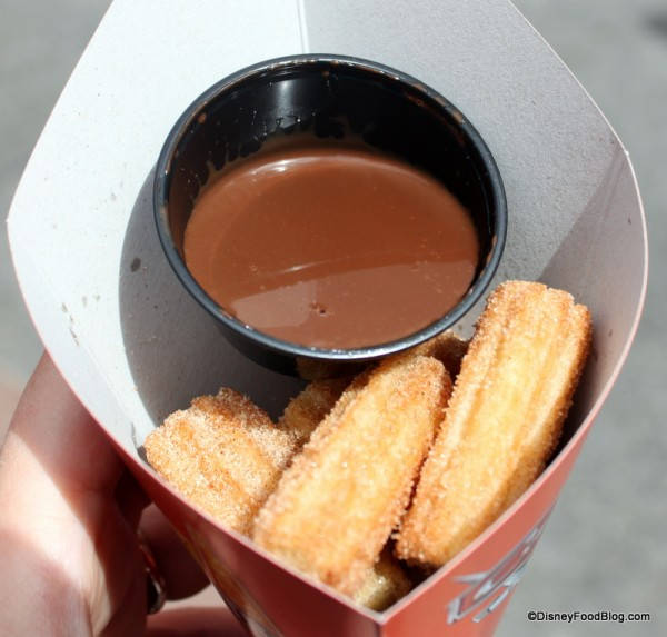 Churro Bites with Chocolate Dipping Sauce