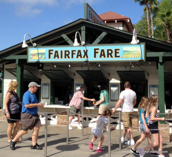 Fairfax Fare at Disney's Hollywood Studios
