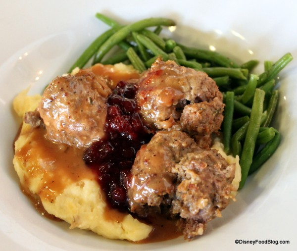 Swedish meatballs are a specialty at Akershus